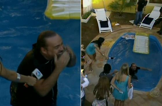 gugu na piscina