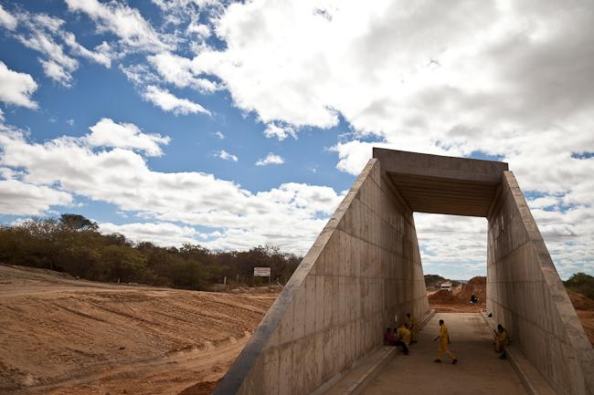 Transnordestina em construção, mas ritmo é lento