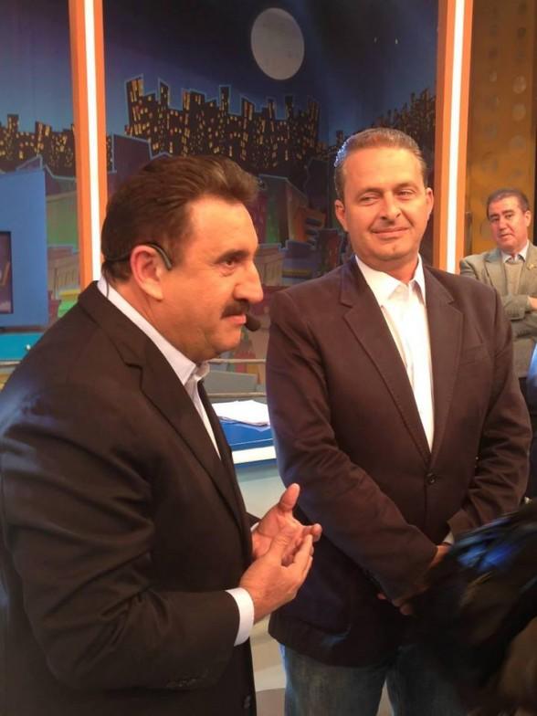 Eduardo Campos em entrevista ao Ratinho SBT