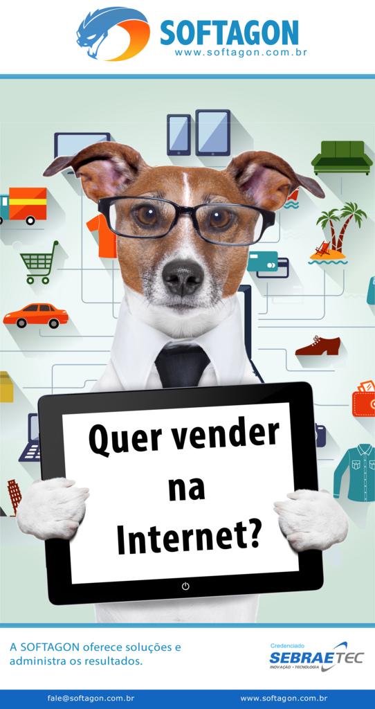 Banner da SOFTAGON: Quer vender na Internet?