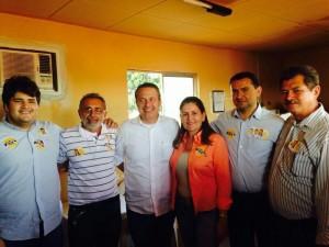 Vereadores de Araripina, Roberta Arraes e Eduardo Campos