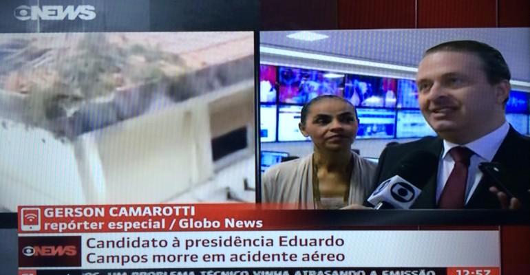 Eduardo Campos faleceu em Santos