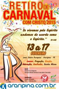 CARTAZ RETIRO 2015