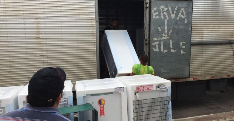 Nova Geladeira em Araripina, CELPE