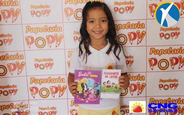 Colégio Nova Geração realiza Semana do Livro em parceria da Papelaria Popy