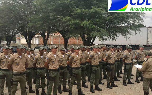 CDL Araripina parabeniza Paulo Câmara pela implantação da 9ª Companhia da PM em Araripina