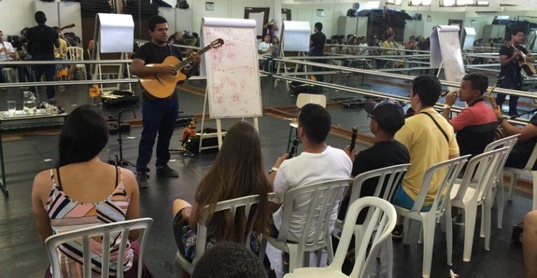 Mostra de Música Vozes do Sertão começam hoje (08)